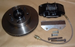 MG Midget 260mm vented disc brake kit