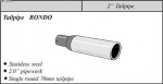 Stainless Steel RONDO 51 tailpipe